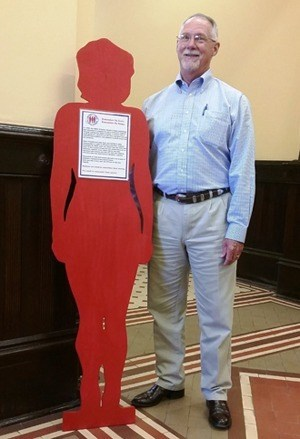 Silent witness at Goliad County courthouse