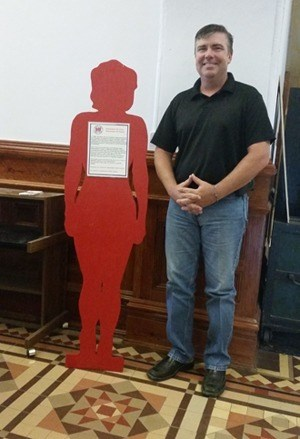 Silent witness at Lavaca County courthouse